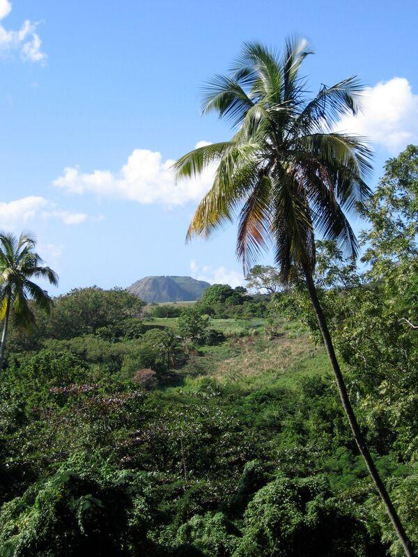 Nevis peak view